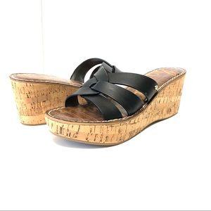 Sam Edelman Wedge Sandals Size 7.5